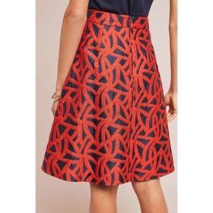 Eva Franco skirt. Matching trench coat available .